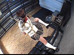 女子学生拘束 奴隷人形めまくり 前編01