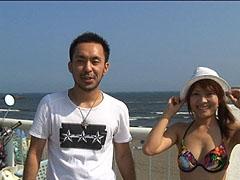 2008年夏!海岸で暇そうにしてるビキニ姿の素人娘をナンパしてヤる! 101