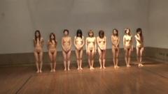 天然素人娘 Vol.3 全裸運動会 Part 2